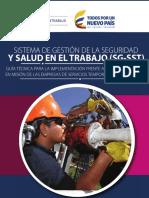 Guía Técnica para La Implementación Del SG SST Frente a Los Trabajadores en Misión de Las EST y sus Usuarios