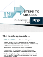 Steps to Success - Coaching Guide
