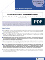 22.Children's Attitudes to Sustainable Transport