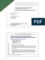 Sistemas de Informação de Memória Organizacional