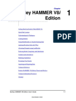 HAMMER V8i User's Guide Ordenado