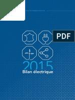 2015 Bilan Electrique