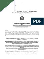 Occ Op. Tenacia Dda Milano