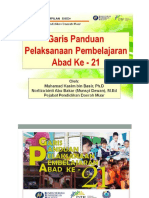 Garis Panduan Pelaksanaan Pembelajaran Abad Ke-21