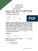 2.CH-2 Determinants (2)
