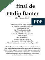 El Final de Philip Banter - John Franklin Bardin