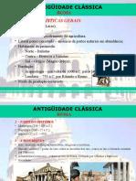Antiguidade Classica Roma (1)