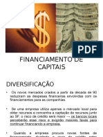 Financiamento de Capitais