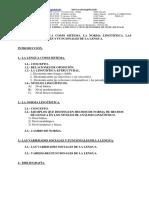 Tema 10 La Lengua Como Sistema (Academiaglobal).Doc