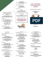 Programa Congreso Theatralia 172