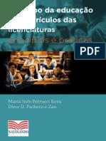 o Campo Da Educacao Nos Curriculos Das Licenciaturas