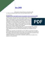 Precio Petroleo 2008