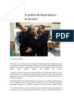 16-02-08 Se Suma Grupo Político de Reyes Baeza a Candidatura de Serrano