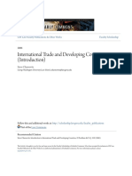 International Trade and Developing Countries (Introduction)