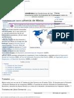 Tratados de Libre Comercio de México - Wikipedia, La Enciclopedia Libre