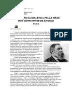 Gilson Dantas Engels e a Dialética