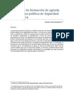 El Proceso de Formacion en Seguridad Democratica Colombia