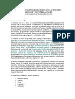 Uputstvo Za Diplomski Poslovanje Turistickih Agencija