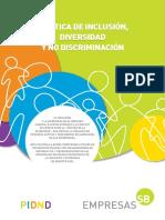 Política de Inclusión Diversidad y No Discriminación (1)