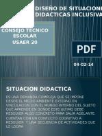 Diseño de Situaciones Didacticas Inclusivas