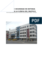 Plan de Seguridad Clinica Del Pacifico 2011 Para Presentacion