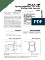MAX1708 Datasheet (PDF) - Maxim Integrated Products