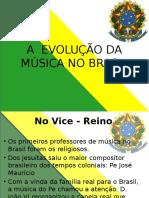 A Evolução Da Música No Brasil