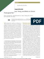 Perioperative Gabapentinoids