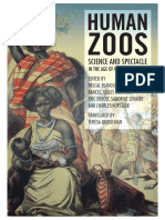 Human Zoos Couverture