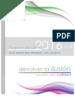 Proyecto de Gestión UGC Medicina Interna 2016