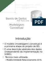 Banco de Dados Modelagem Conceitual