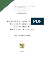 VT Interim Report