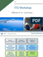 EDTO Module 9 –Summary