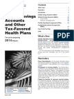 IRS p969 - Health Savings Accounts and Other Tax-Favored Health Plans