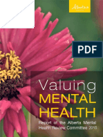 Alberta Mental Health Review 2015