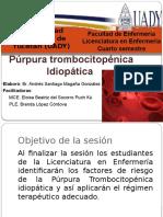 Presentación Púrpura Trombocitopénica idiopática