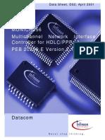 Munich256 HDLC-Controller Datasheet