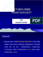 Metabolisme Asam Nukleat 2014