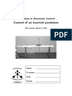 Control de un pendulo invertido