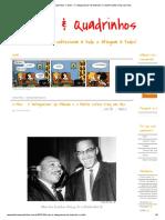 O Antagonismo de Malcolm X e Martin Luther King Nas HQs