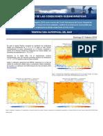 Condiciones Oceanográficas