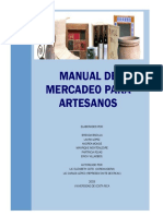 Manual de Mercadeo Para Artesanos