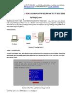 Pembahasan Paket 1 Soal Ujian Praktik Kejuruan Tkj Tp 2015 2016 Terbaru