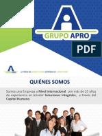 Presentación Grupo Apro V2 1