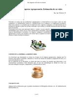 Costos de La Empresa Agropecuaria