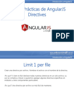 Buenas Prácticas de AngularJS Directives