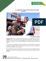 16-02-19 Pide Enrique Serrano a Delegados de Ojinaga y Manuel Benavides Trabajar en Unidad
