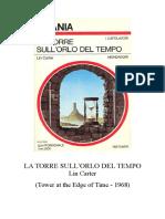 Carter Lin-La Torre Sull'Orlo Del Tempo