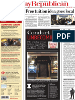 Conduct Unbecoming 18 January 2015