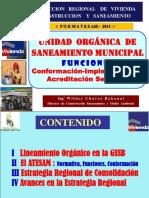 CONFORMACION DE AREA TECNICA MUNICIPAL
